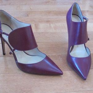New JIMMY CHOO Heels *Size 38.5* Purple/Eggplant
